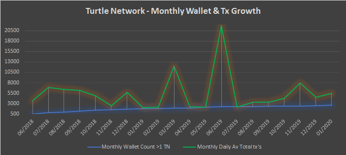 TurtleNetwork – Monthly Insights – January 2020