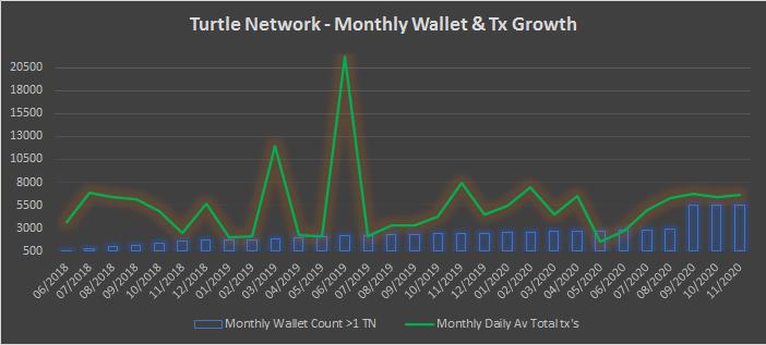 TurtleNetwork – Monthly Insights – November 2020