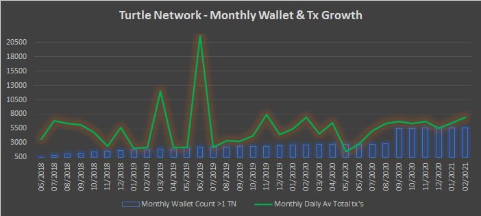 TurtleNetwork – Monthly Insights – February 2021
